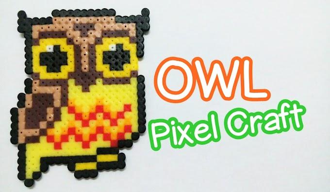 Video : Owl Pixel Crat (Perler Beads)