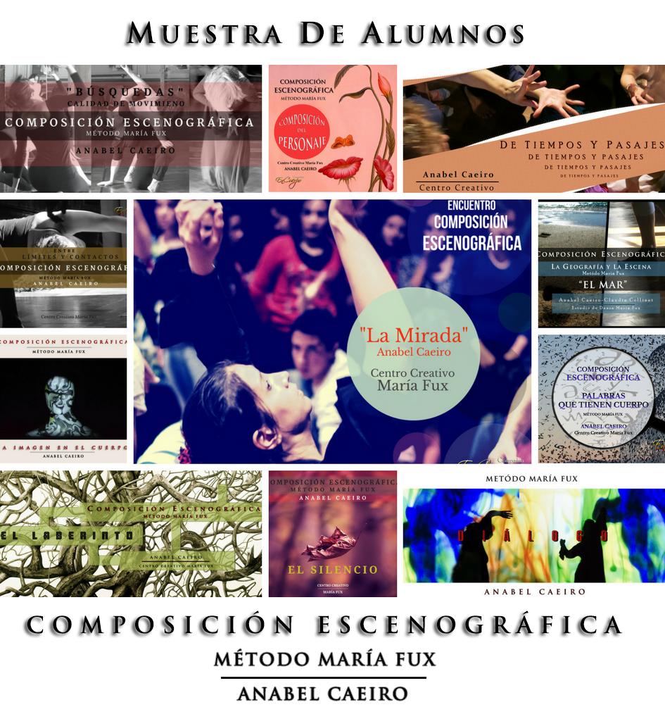 Muestra Anual  2017 de Alumnos de Composición Escenográfica Método María Fux