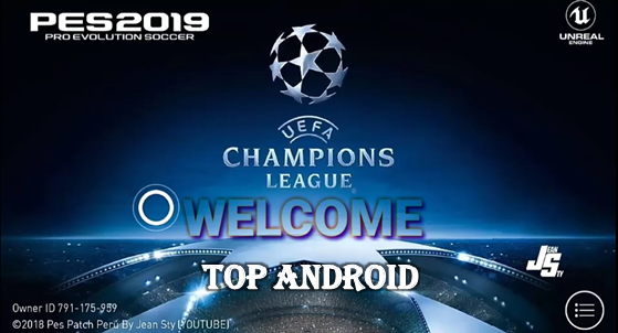 Download PES 2019 v3 1 3 Mod UEFA Champions League