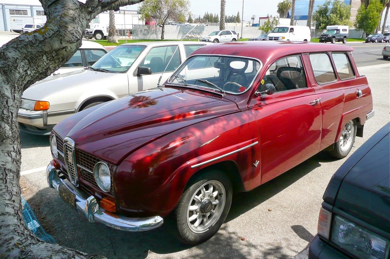 Scenes in a classic Saab shop, ten, 10 spoke Ronal Shelby Minilite Wheel, rim