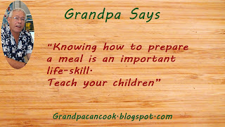 Knowing how to prepare a meal in an important life-skill. Teach your children to cook