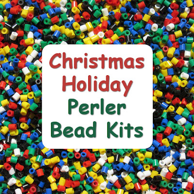 Fused perler bead sets are perfect for Christmas gifts