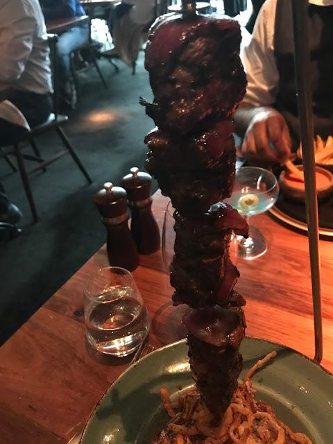 Melbourne, The Meat & Wine Co., kangeroo loin