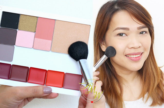 a photo of Nikki Tiu AskMeWhats wearing Inglot AMC Pressed Powder in shade 56