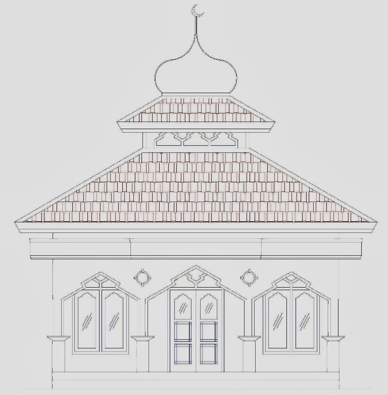 Masjid Sederhana Ukuran 66 M X 66 M Home Design And Ideas