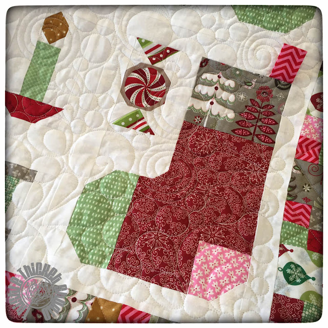 Have Yourself A Quilty Little Christmas by Thistle Thicket Studio. www.thistlethicketstudio.com