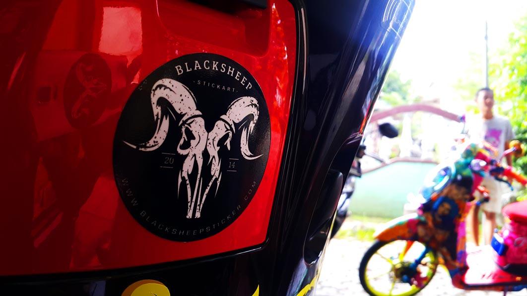 new blacksheep sticker logo