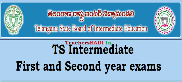 TS Inter Exams fee dates,time table,hall tickets,results