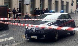 """""""Hay una bomba cerca del Vaticano"""", decía el llamado que despertó la alarma este miércoles por la mañana."""