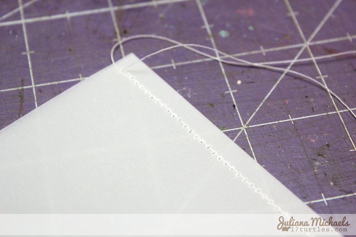 Vellum Sequin Shaker Pocket Tutorial  #sequins #vellum
