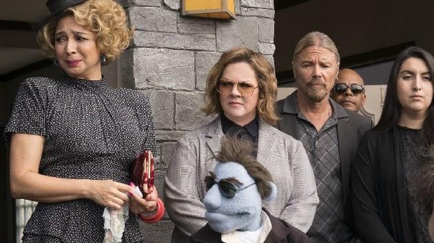 """""""Crimes em Happytime"""", uma comédia estilo Muppets """"para adultos"""" com Melissa McCarthy, é um dos destaques."""