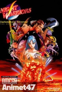 Vampire Hunter - Night Warriors: Darkstalkers' Revenge 1997 Poster