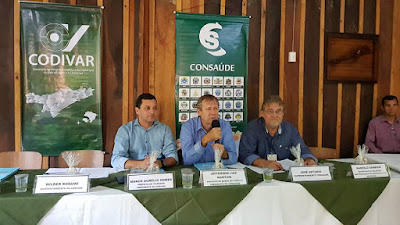CONSAÚDE realiza Assembleia de Prefeitos em Barra do Turvo