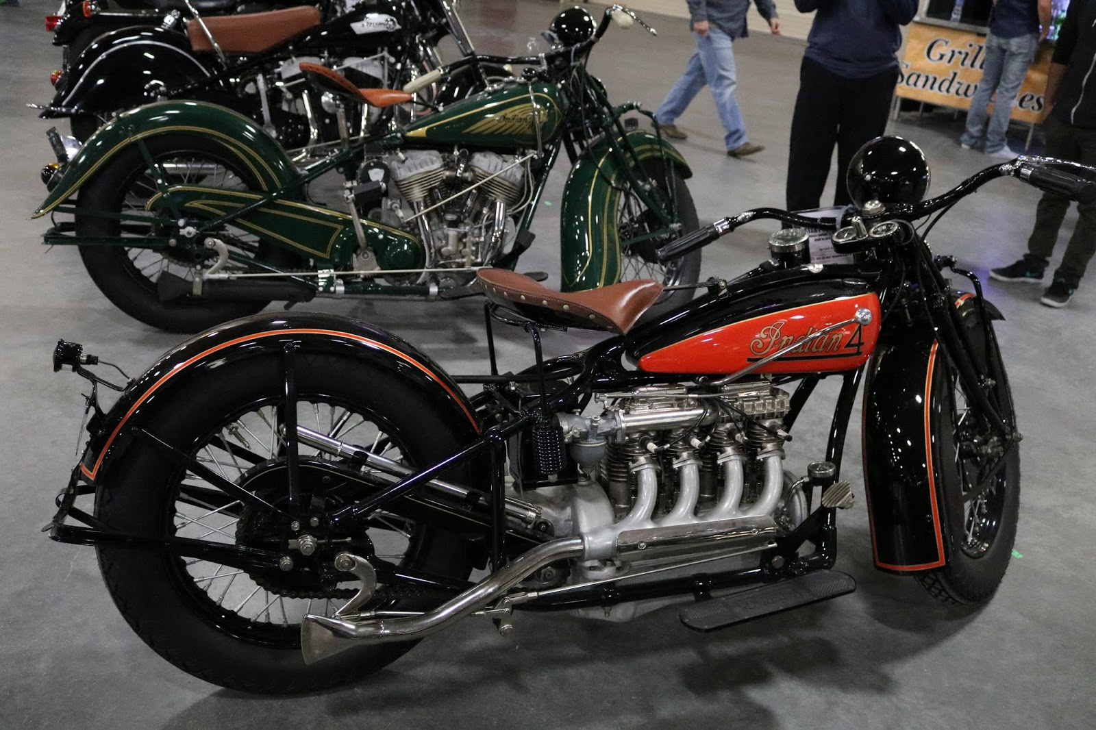 oldmotodude 1931 indian four sold for 85 000 at the 2017 mecum las vegas motorcycle auction. Black Bedroom Furniture Sets. Home Design Ideas