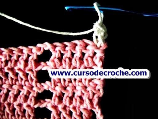 cursodecroche padrão altura ponto alto inicio de carreira aprendercroche edinir-croche