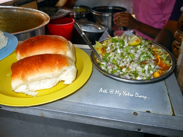 The spicy popular regional mix beans curry Missal Pav in Pune, Maharashtra