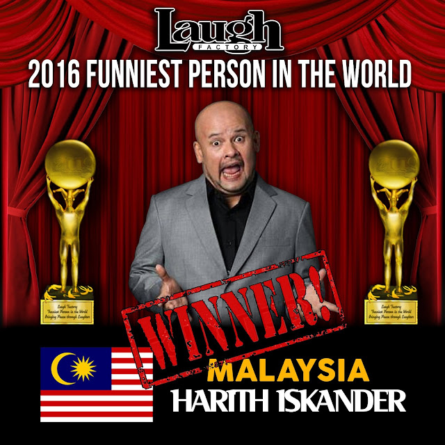Harith Iskander The Funniest Person in the World