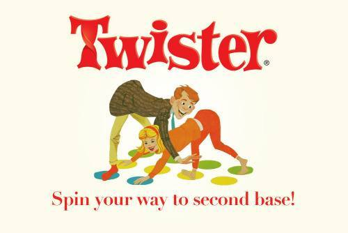 Twister - spin your way to second base