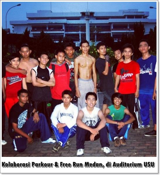 Parkour Medan