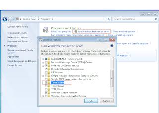 Telnet Windows 7