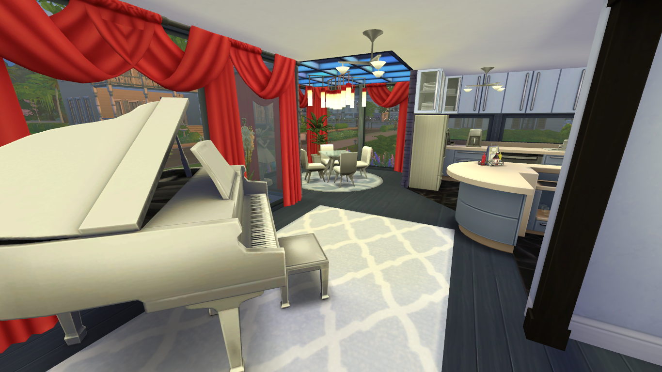 My Sims 4 Builds Small Modern House