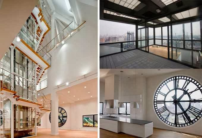 Clock Tower Triplex Apartment In New York Ayanahouse