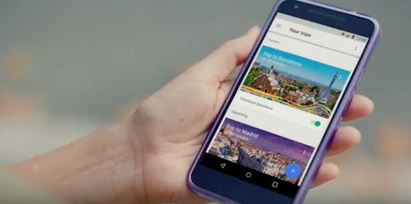 Google推出旅行規劃工具Google Trips,自動幫你設計行程