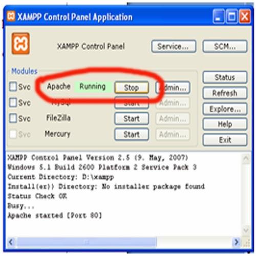 xampp 1.7.4