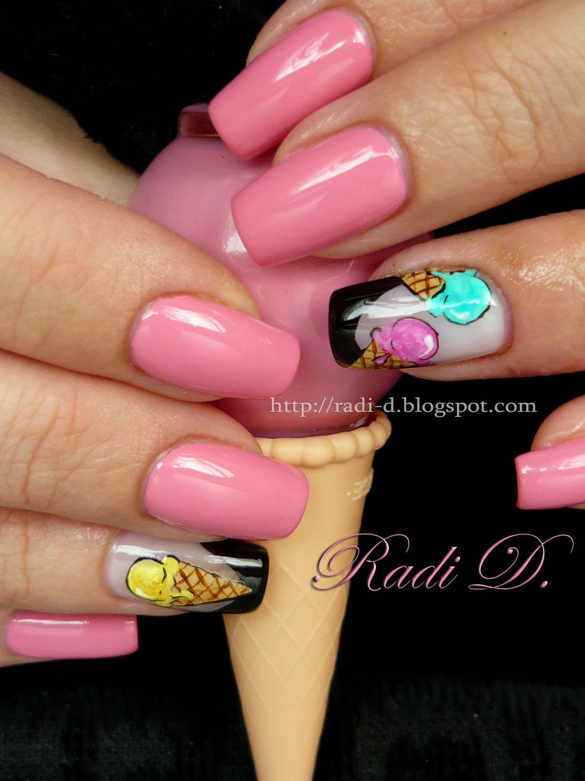 It`s All About Nails: Ice Cream Nails