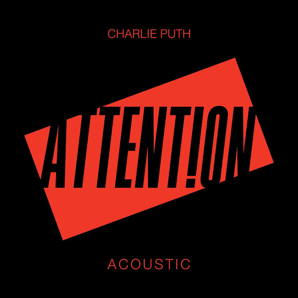 Charlie Puth - Attention (Acoustic) - Single Cover