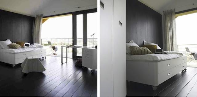 {BLACK. WHITE. YELLOW.}: Ligne Roset Travel Studio Bed