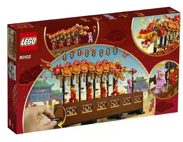 Dragon Dance LEGO Sets Box Back