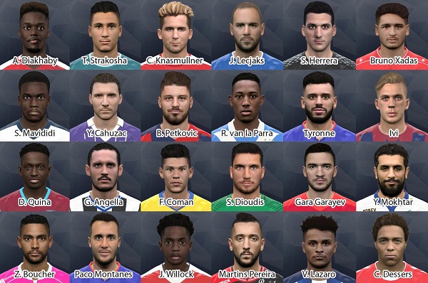 PES 2017 International facepack
