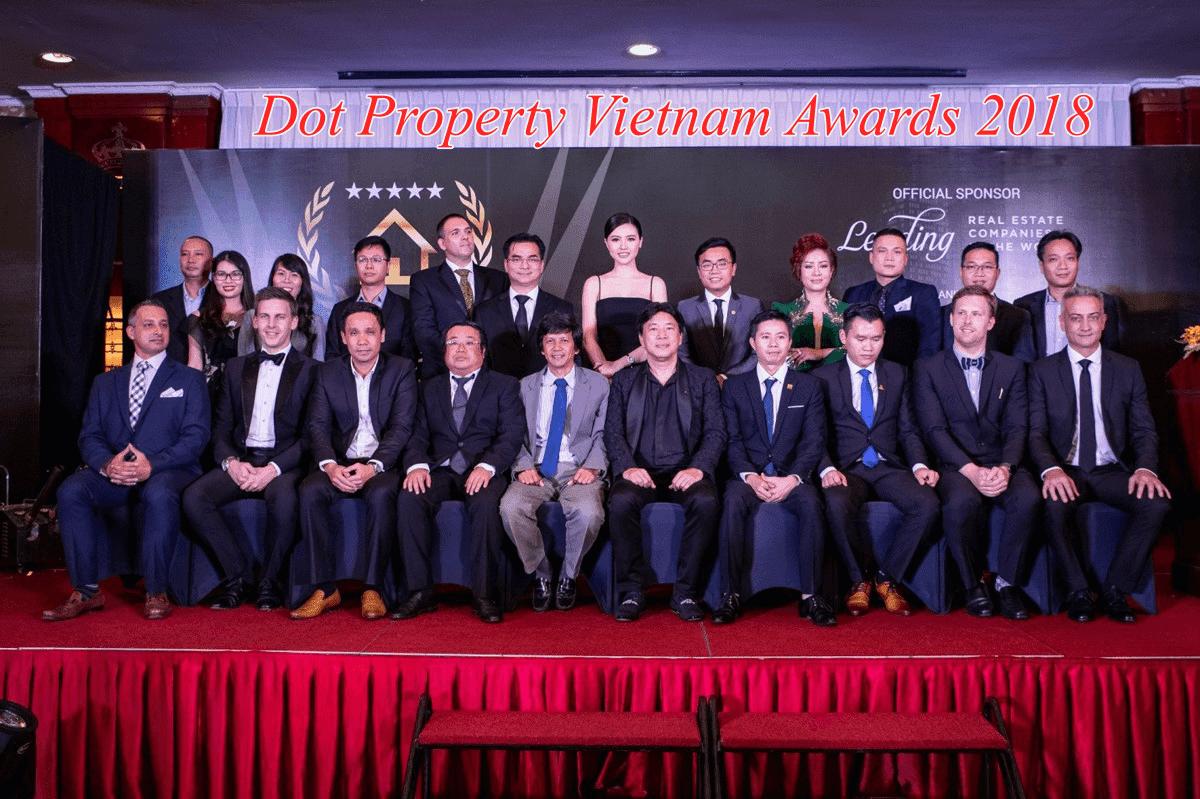 Hinode City nhận hai giải thưởng bất động sản trong năm 2018