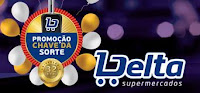 Promoção Chave da Sorte Delta Supermercados