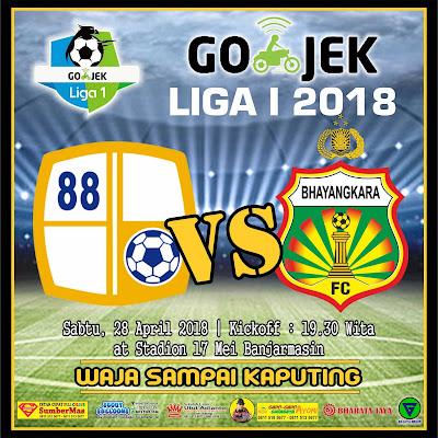 Prediksi Barito Putera VS Bhayangkara FC Go-jek Liga 1  2018