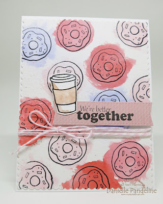 Coffee and Donuts | My Style Stamps | Created by Danielle Pandeline