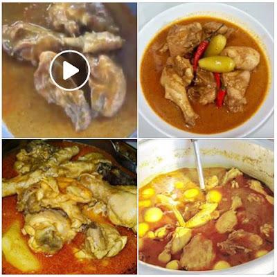 Gulai Ayam Kelantan Style Simple