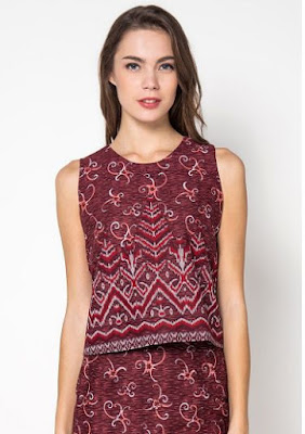 Model Baju Batik Solo Elegan