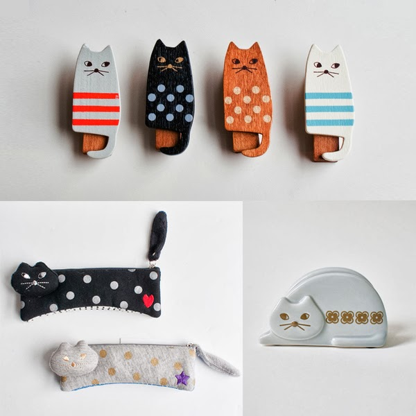 cat themed stationery - fun products for cat people