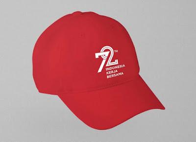 Download Gratis Logo 72 Tahun HUT Kemerdekaan RI format Corel dan Ai
