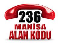 0236 Manisa telefon alan kodu