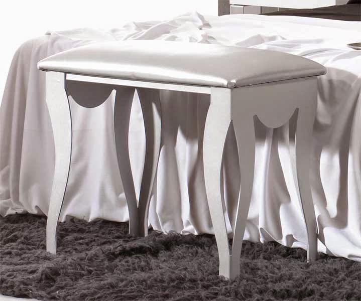 Muebles de forja banquetas descazadoras para dormitorio - Banquetas para dormitorio ...