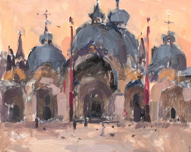 #370 'Painting St Marks Square, Venice' no.1
