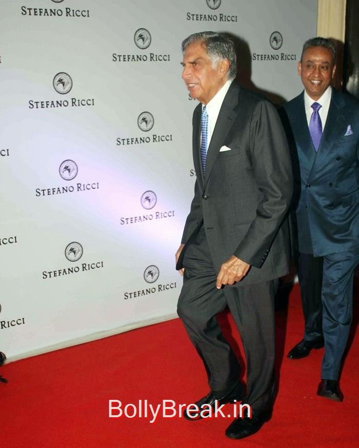 Ratan Tata, Sridevi Hot Images at The Launch of Stefano Ricci Flagship Store
