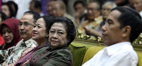 Kala Megawati menyebut Jokowi dan dirinya adalah petugas partai