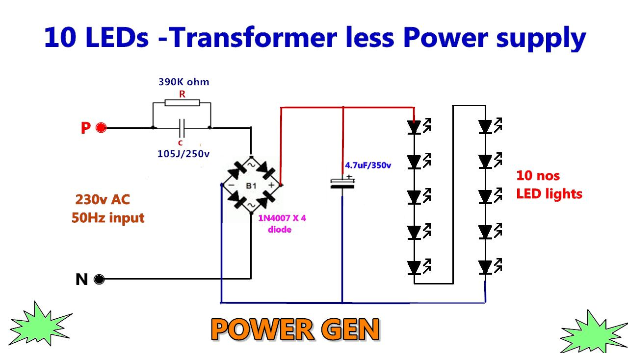 Power Gen Circuit Diagram List Part 2 With Solar Panel Schematic Also Npn And Pnp Transistor Energy Led Lights Acts As A Cells