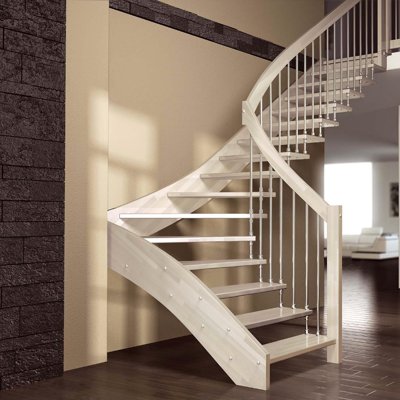 Rumah Kayu Mewah: Tips Desain Tangga Rumah Dua Lantai