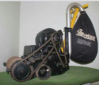 old sanding machine