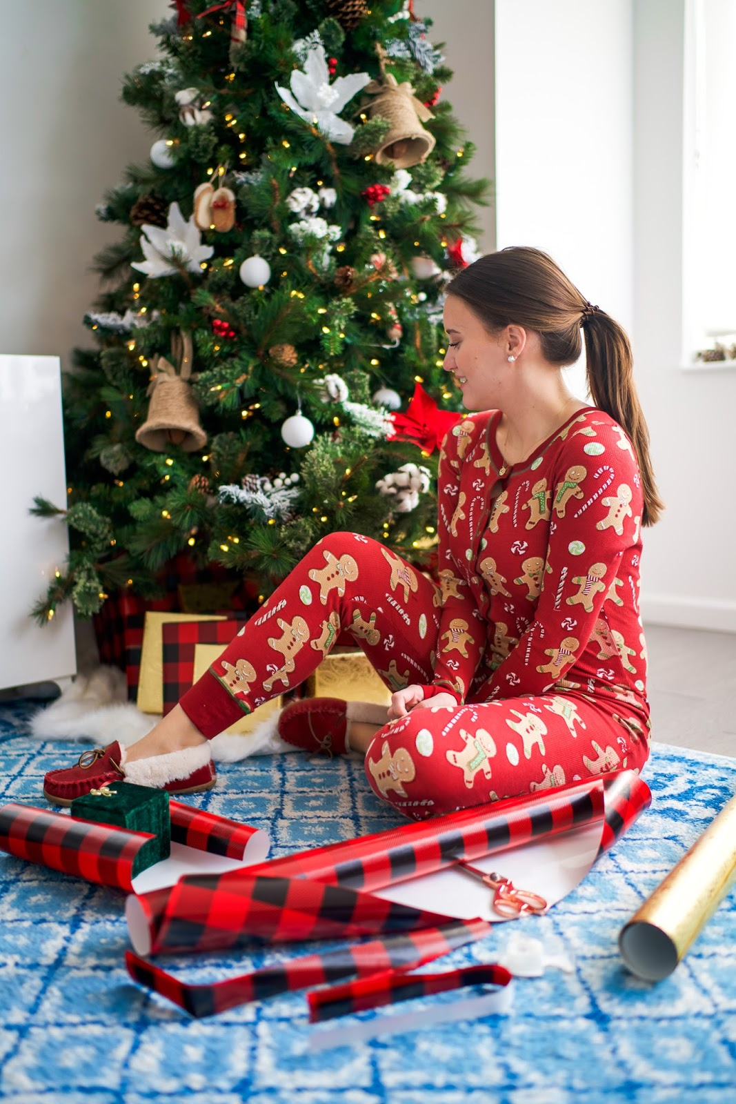 Gingerbread Onesie Holiday Pajamas | New York City Fashion ...